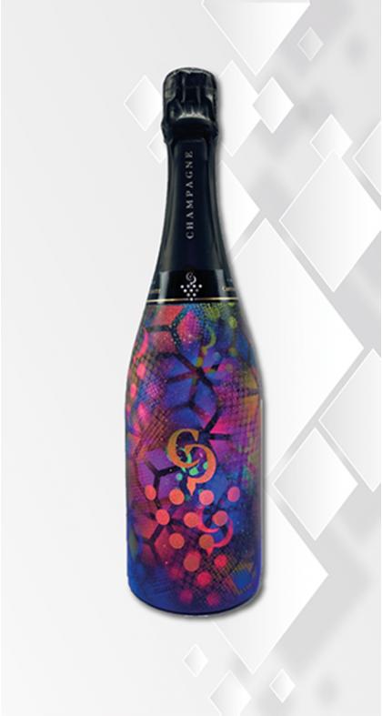 Champagne COTTANCEAU-PRIGNITZ DesignByCP personnalisation, customisation, sur-mesure